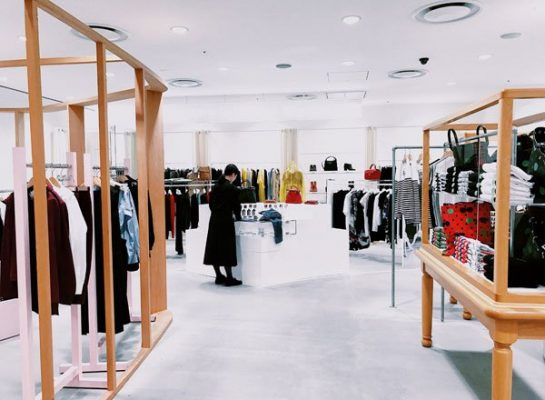 Photo of retail store interior